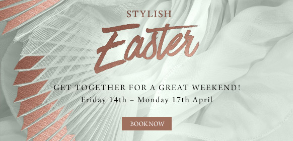 Stylish Easter at The Harts Boatyard - Book now