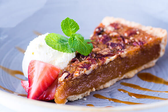 Desserts at The Harts Boatyard this Father's Day